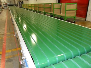 Extra Wide Belt Conveyor Close