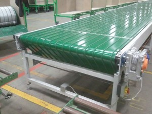 End of Extra Wide Belt Conveyor
