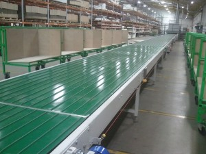 Extra Wide Conveyor Line